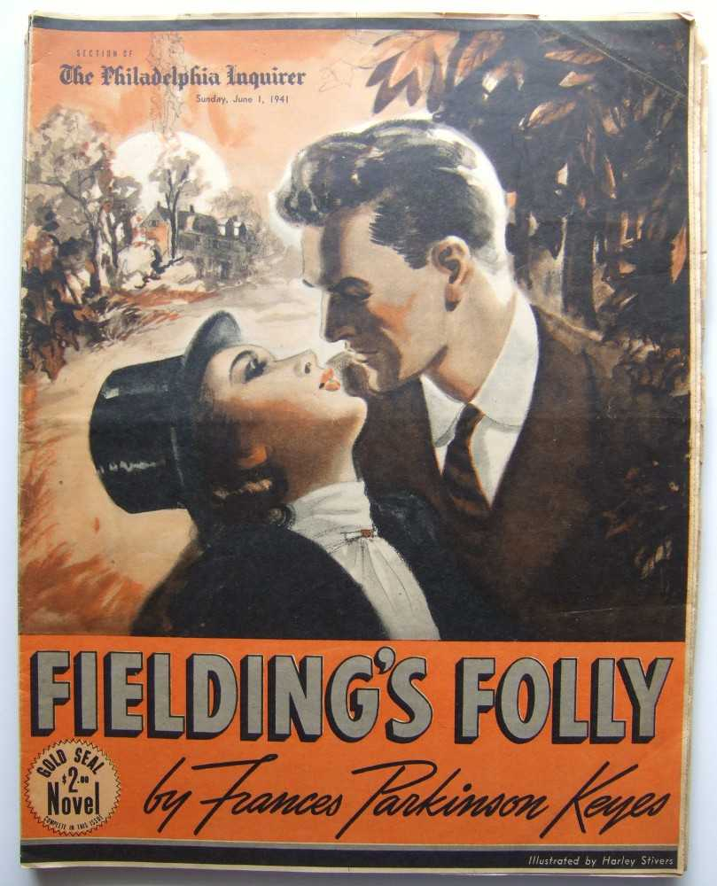 Image for Fielding's Folly (Gold Seal Novel, presented by the Philadelphia Inquirer, Sunday, June 1, 1941)