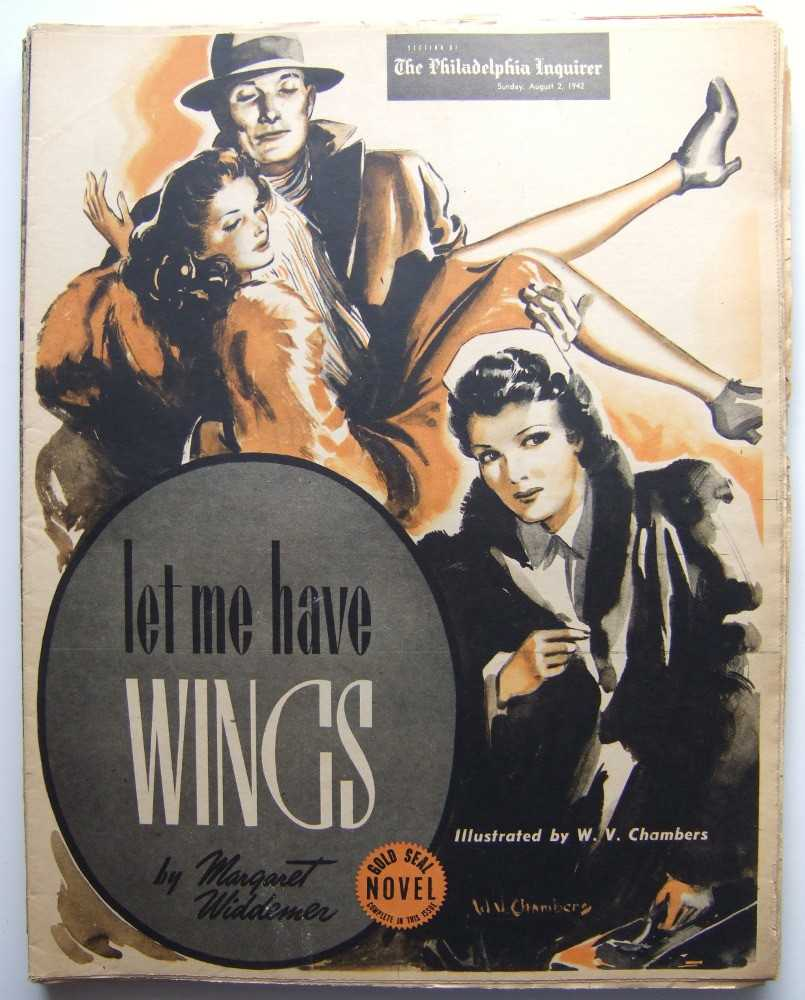 Image for Let Me Have Wings (Gold Seal Novel, presented by the Philadelphia Inquirer, Sunday, August 2, 1942)