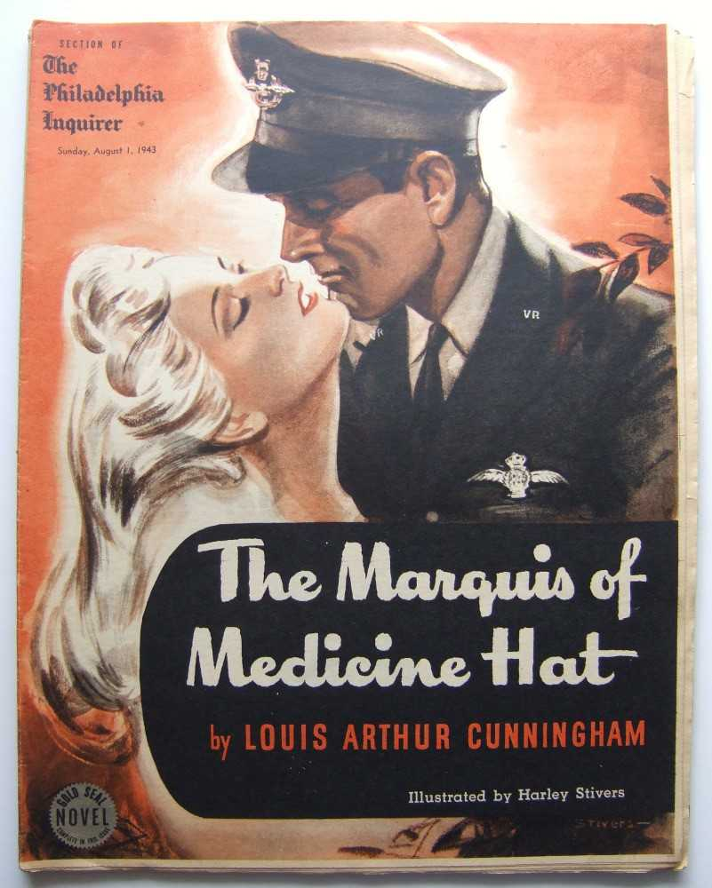 Image for The Marquis of Medicine Hat (Gold Seal Novel, presented by the Philadelphia Inquirer, Sunday, August, 1943)