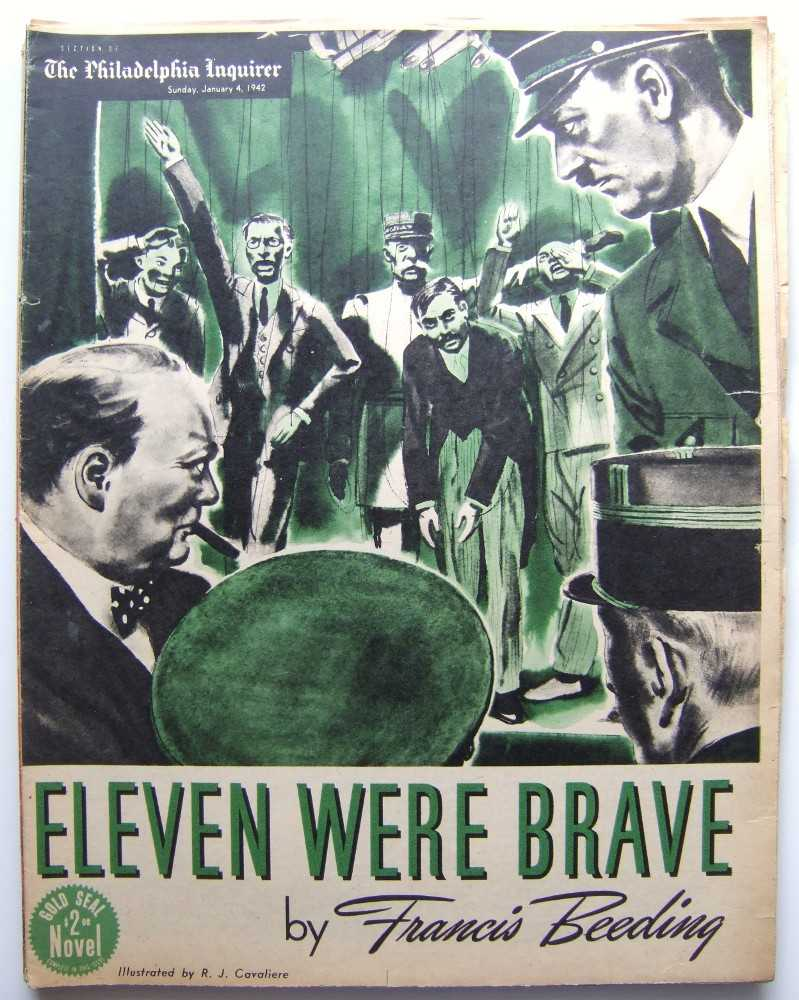 Image for Eleven Were Brave (Gold Seal Novel, presented by the Philadelphia Inquirer, Sunday, January 4, 1942)
