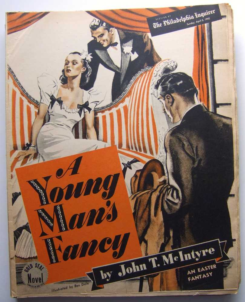 Image for A Young Man's Fancy (Gold Seal Novel, presented by the Philadelphia Inquirer, Sunday, April 5, 1942)