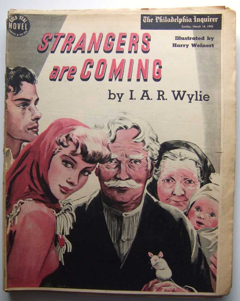 Image for Strangers Are Coming (Gold Seal Novel, presented by the Philadelphia Inquirer, Sunday, March 14, 1943)