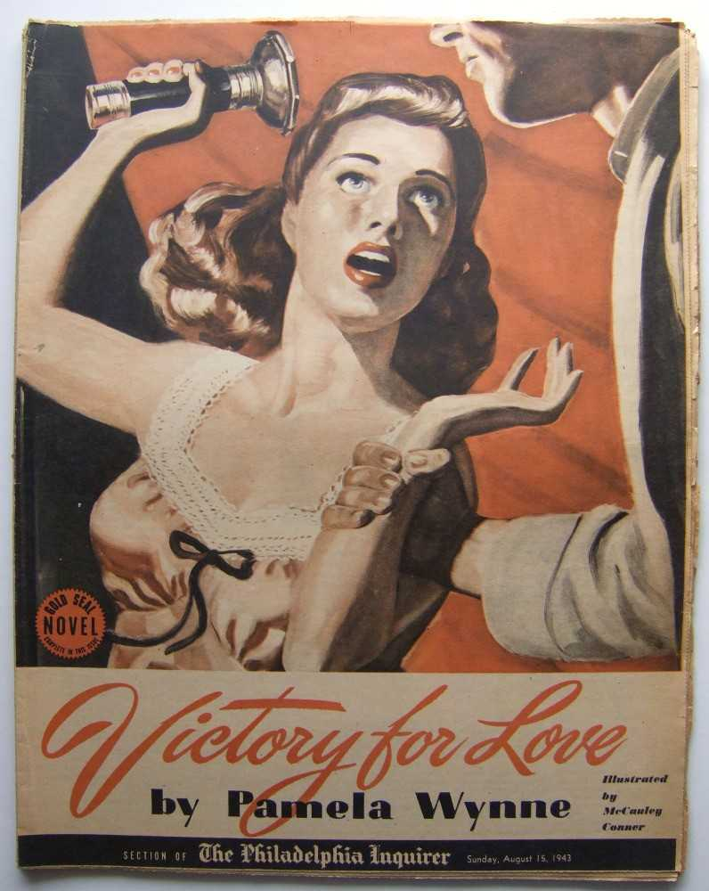 Image for Victory for Love (Gold Seal Novel, presented by the Philadelphia Inquirer, Sunday, August 15, 1943)