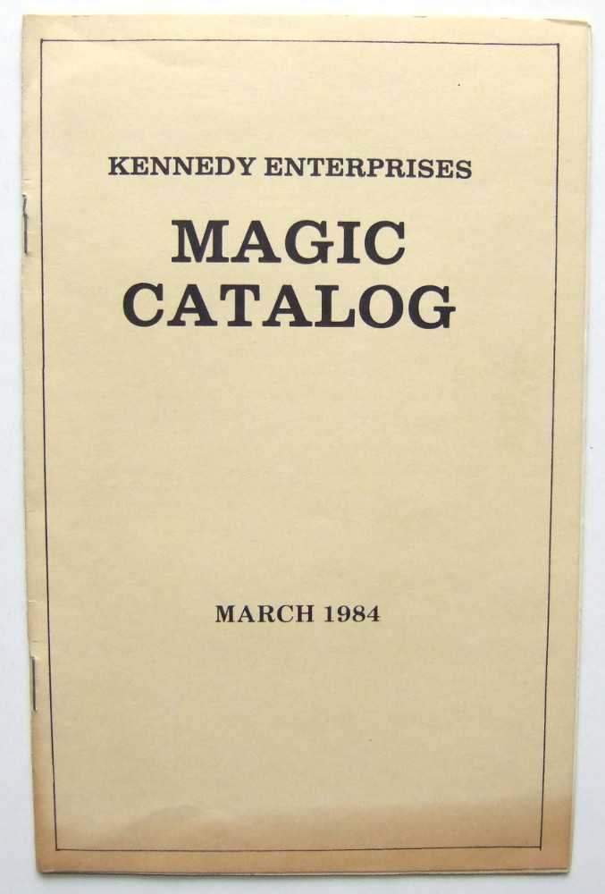 Image for Kennedy Enterprises Magic Catalog