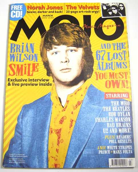 Image for Mojo Music Magazine (March, 2004)