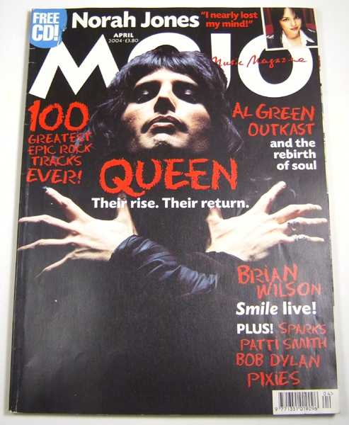 Image for Mojo Music Magazine (April, 2004)