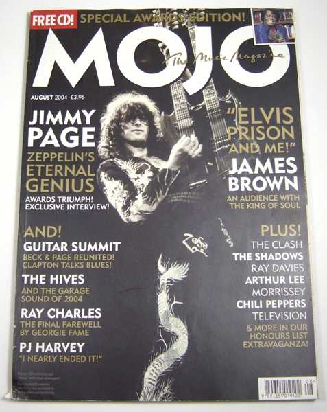 Image for Mojo Music Magazine (August, 2004)