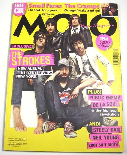 Mojo Music Magazine #118 (September, 2003)