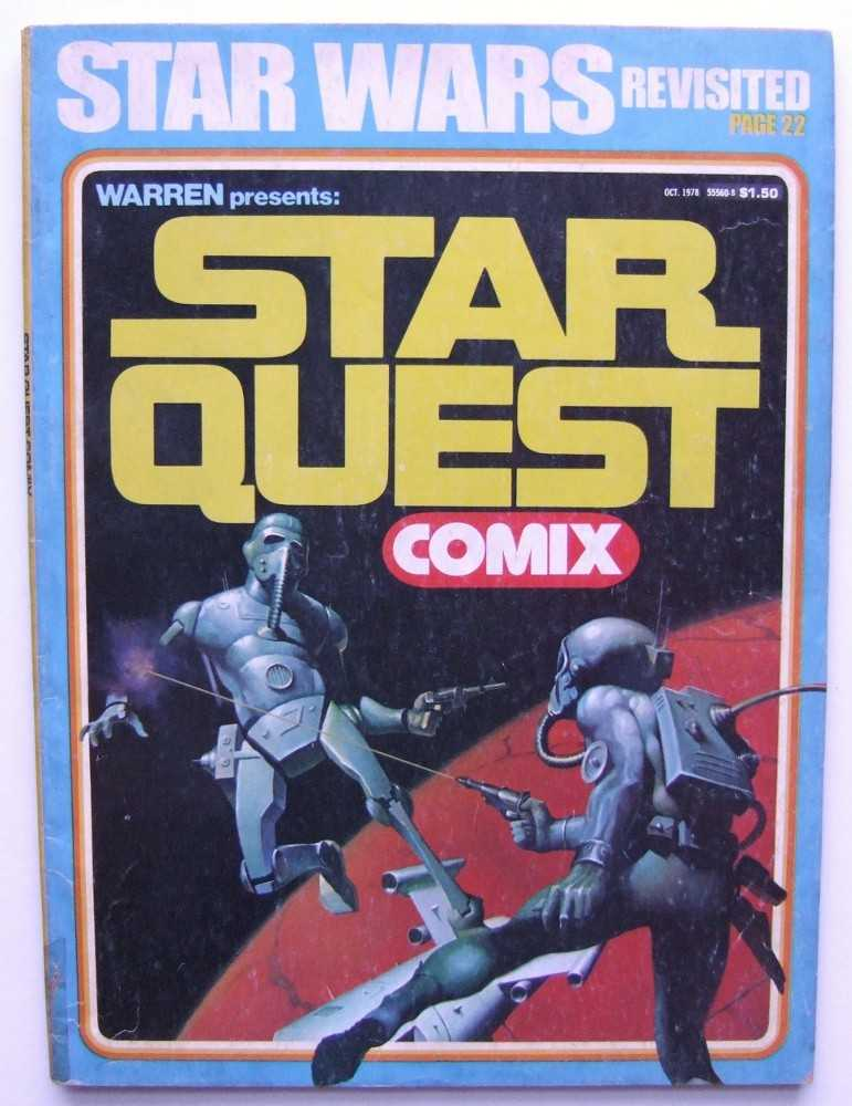 Image for Star Quest Comix (October, 1978)