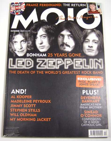 Image for Mojo Music Magazine #143 (October, 2005)