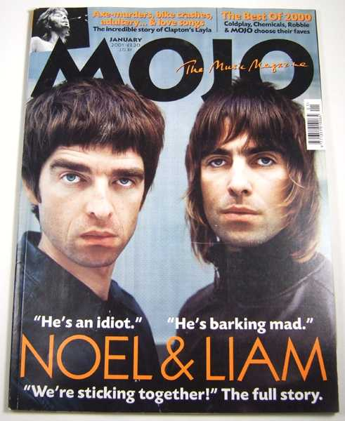Image for Mojo Music Magazine #86 (January, 2001)