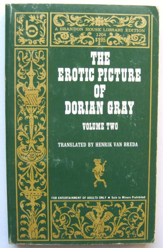Image for The Erotic Picture of Dorian Gray, Volume 2
