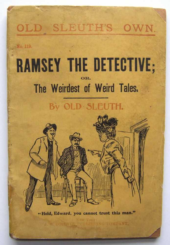Image for Ramsey the Detective; or, The Weirdest of Weird Tales (Old Sleuth's Own No. 119)