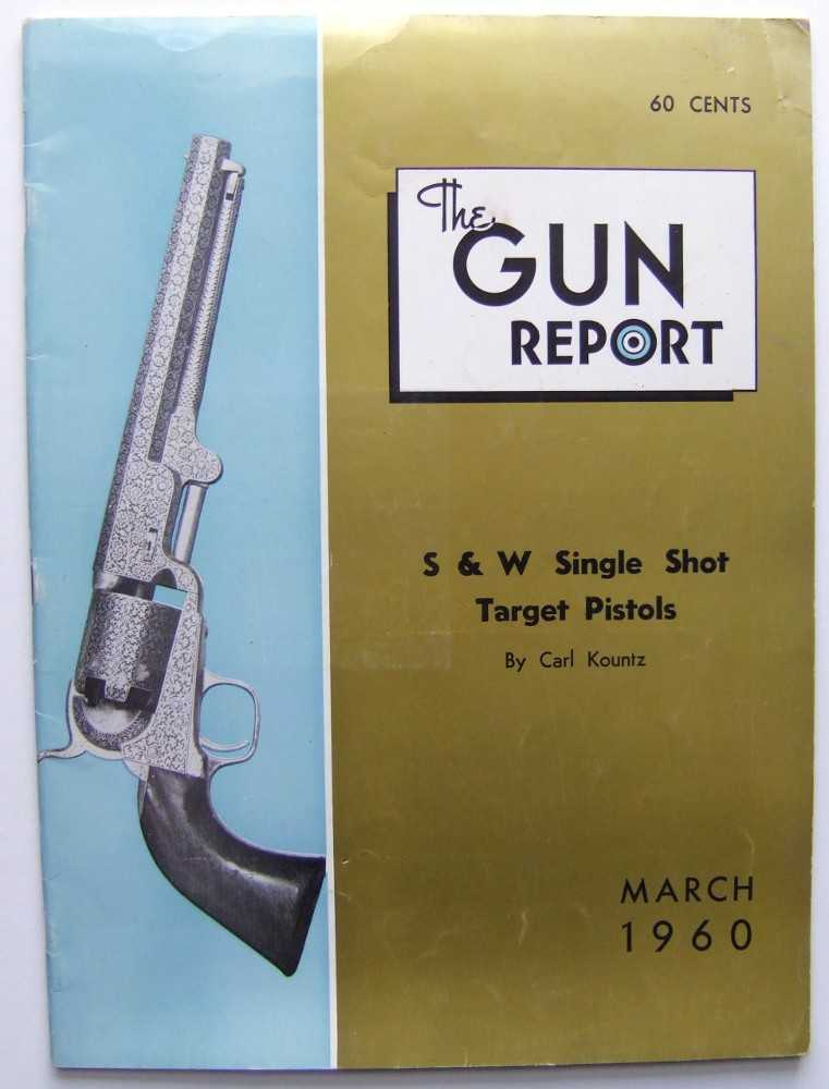 Image for Gun Report (March, 1960)
