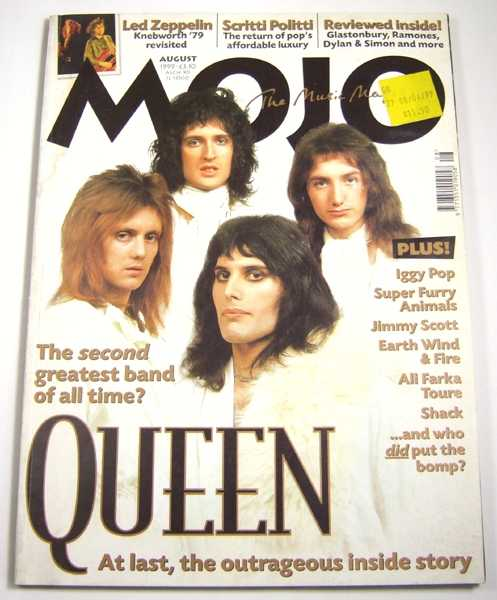 Image for Mojo Music Magazine #69 (August, 1999)