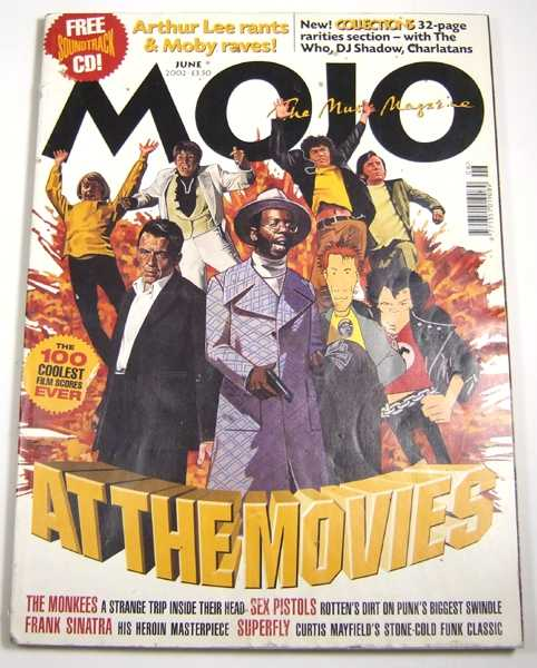 Image for Mojo Music Magazine #103 (June 2002)