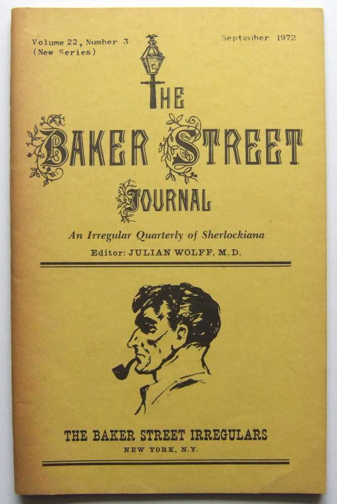 Image for The Baker Street Journal: An Irregular Quarterly of Sherlockiana (September, 1972, New Series, Volume 22, Number 3)