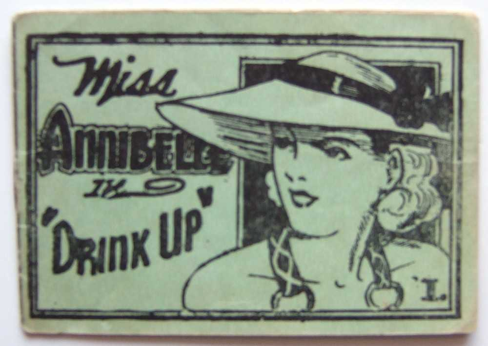 "Image for Miss Annibelle in ""Drink Up"" 1. (Tijuana Bible, 8-Pager)"