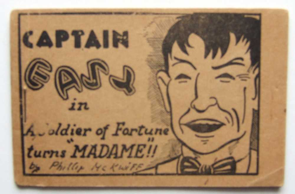 "Image for Captain Easy in A Soldier of Fortune Turns ""Madame""!! by Phillip McKwiff (Tijuana Bible, 8-Pager)"
