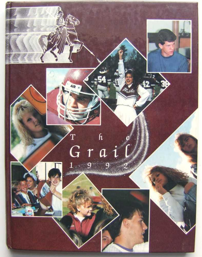 Image for The Grail: Noble High School (Berwicke, Maine 1992)