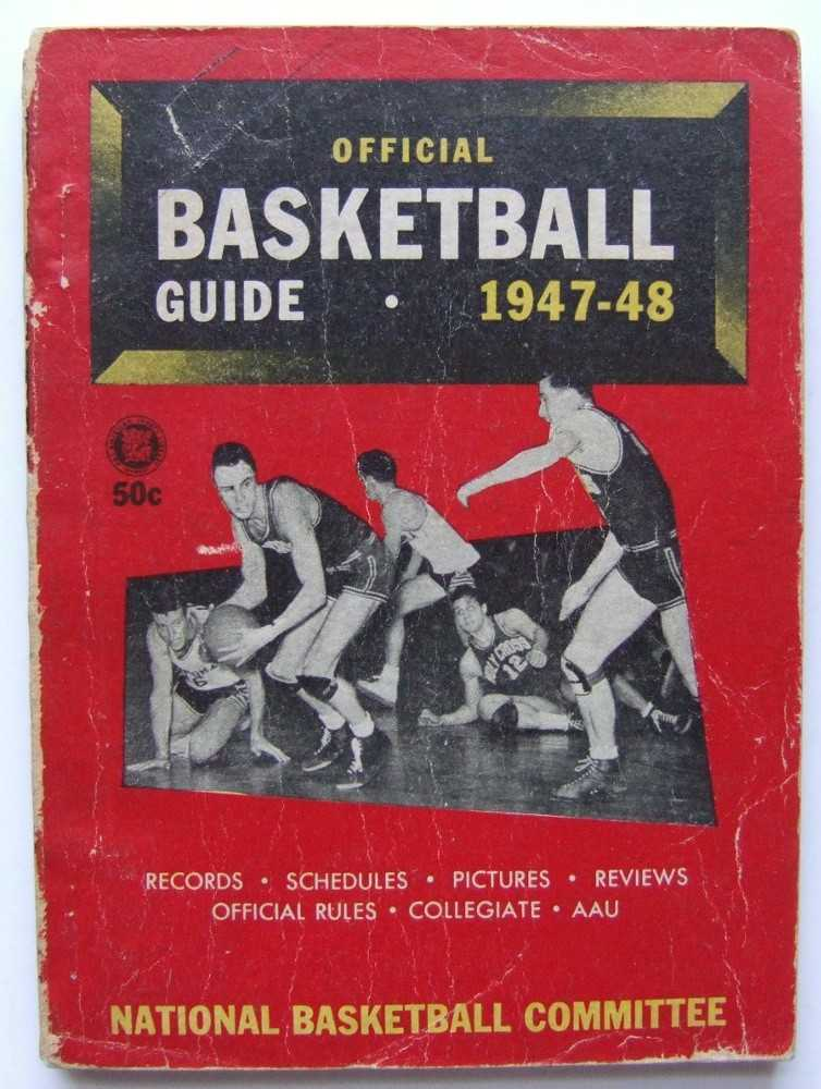 Image for The Official National Basketball Committee Basketball Guide, Including the Official Rules, 1947-1948