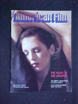 Image for American Film (October, 1978, Volume 4, #1)