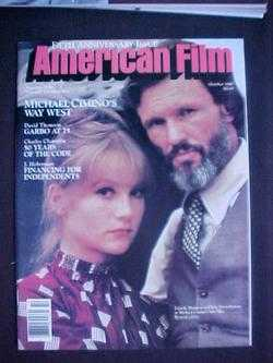 Image for American Film (October, 1980, Volume 6, #1)