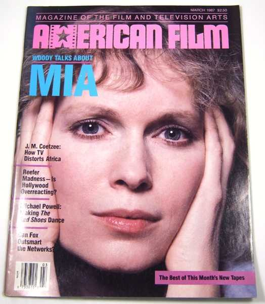 Image for American Film (March, 1987, Volume 12, #5)