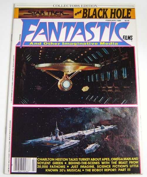 Image for Fantastic Films: The Magazine of Fantasy and Science Fiction in Cinema #14 (February 1980, Volume 2, #8)