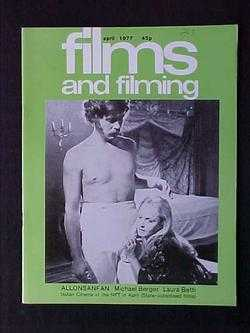 Image for Films and Filming (April, 1977, Volume 23, #7)