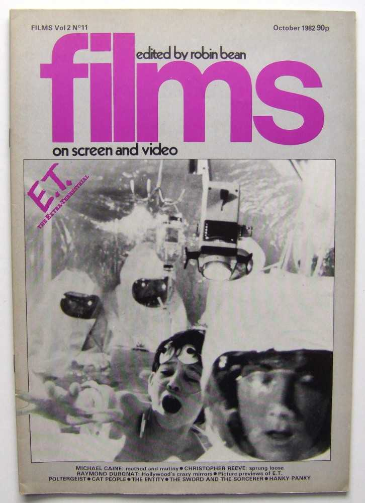 Image for Films on Screen and Video (October, 1982 , Volume 2, #11)