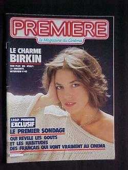 Image for Premiere: Le Magazine du Cinema, No. 83 (Fevrier, 1984)