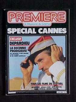 Image for Premiere: Le Magazine du Cinema, No. 86 (Mai, 1984)