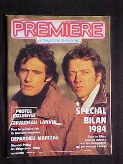 Image for Premiere: Le Magazine du Cinema, No. 94 (Janvier, 1985)