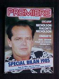 Image for Premiere: Le Magazine du Cinema, No. 106 (Janvier, 1986)