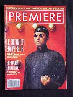 Image for Premiere: Le Magazine du Cinema, No. 129 (Decembre, 1987)