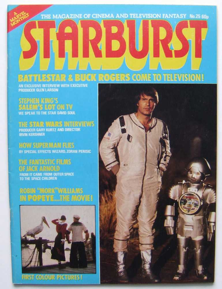 Image for Starburst: The Magazine of Cinema and Television Fantasy #25 (1980, Volume 3, #1)