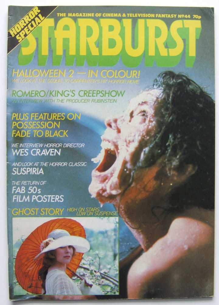 Image for Starburst: The Magazine of Cinema and Television Fantasy #44 (1981, Volume 4, #8)