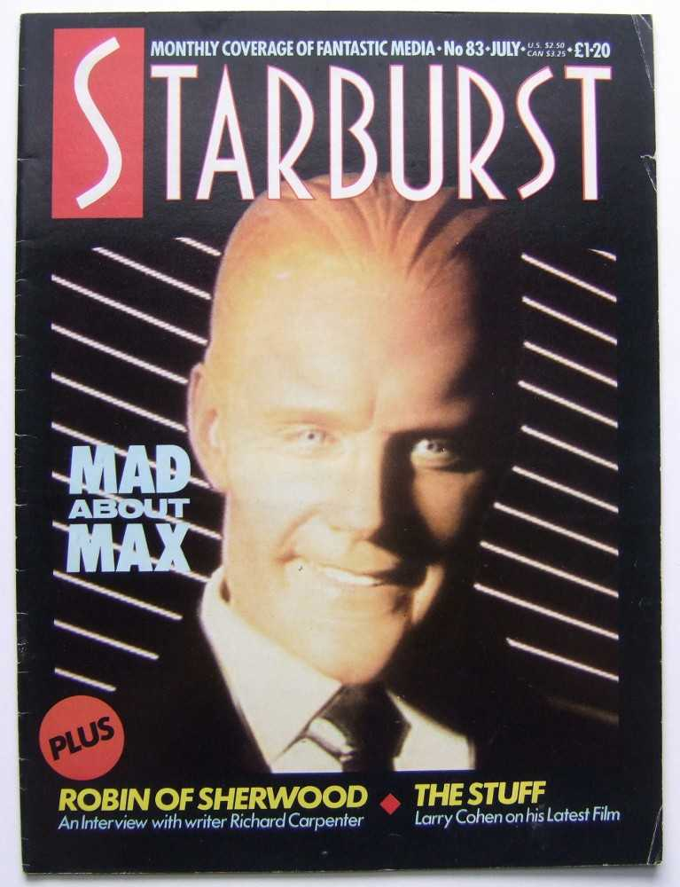 Image for Starburst: The Magazine of Cinema and Television Fantasy #83 (July, 1985, Volume 7, #11)