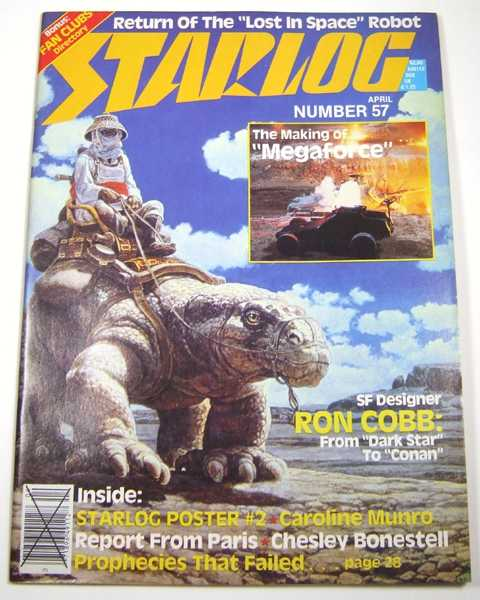 Image for Starlog #57 (April, 1982)
