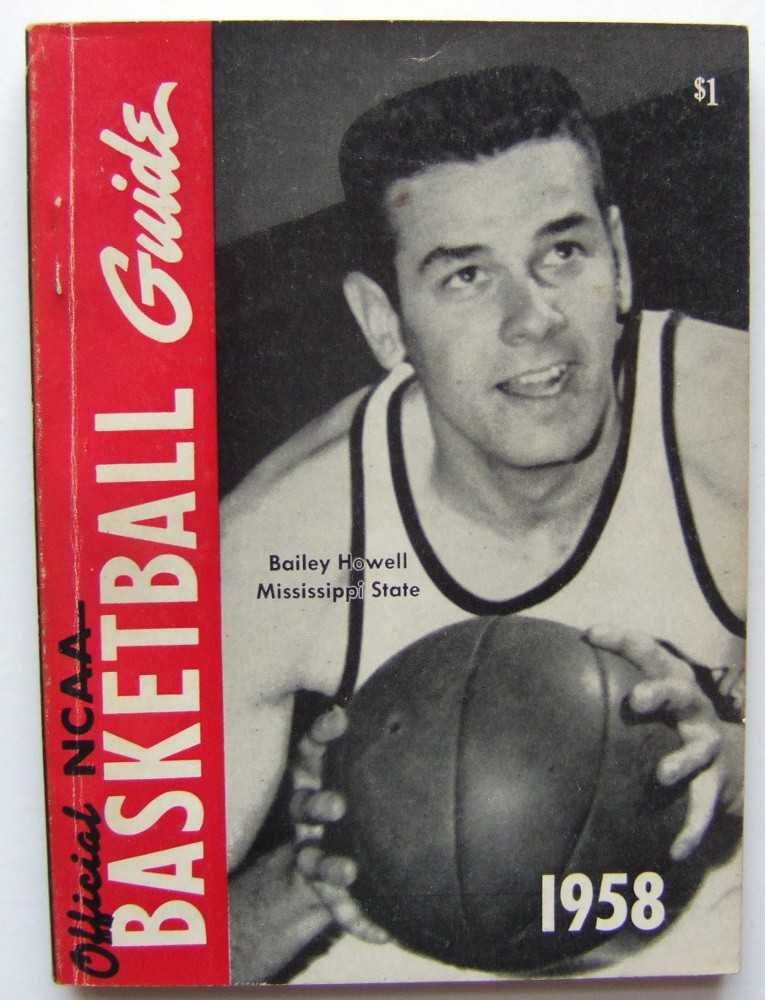 Image for The Official National Basketball Committee Basketball Guide, Including the Official Rules, 1958