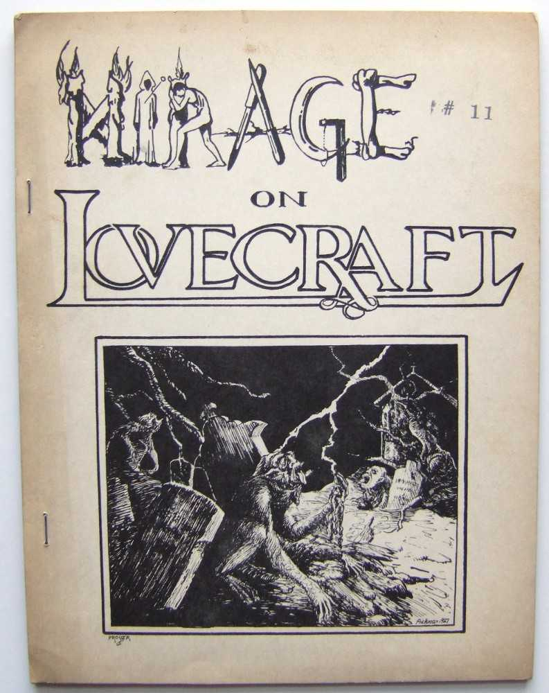 Image for Mirage on Lovecraft: A Literary View (The Anthem Series) (fantasy, horror 'zine)