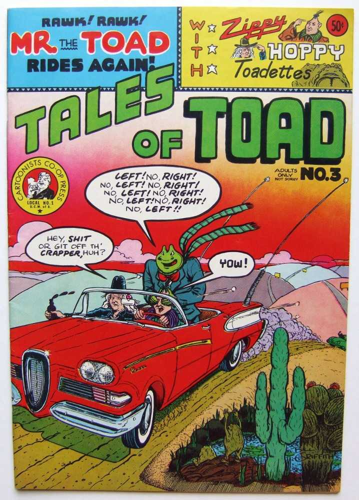 Image for Tales of the Toad And Other Stories #3