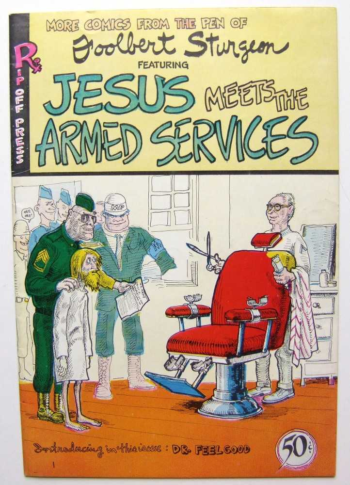 Image for Jesus Meets the Armed Services