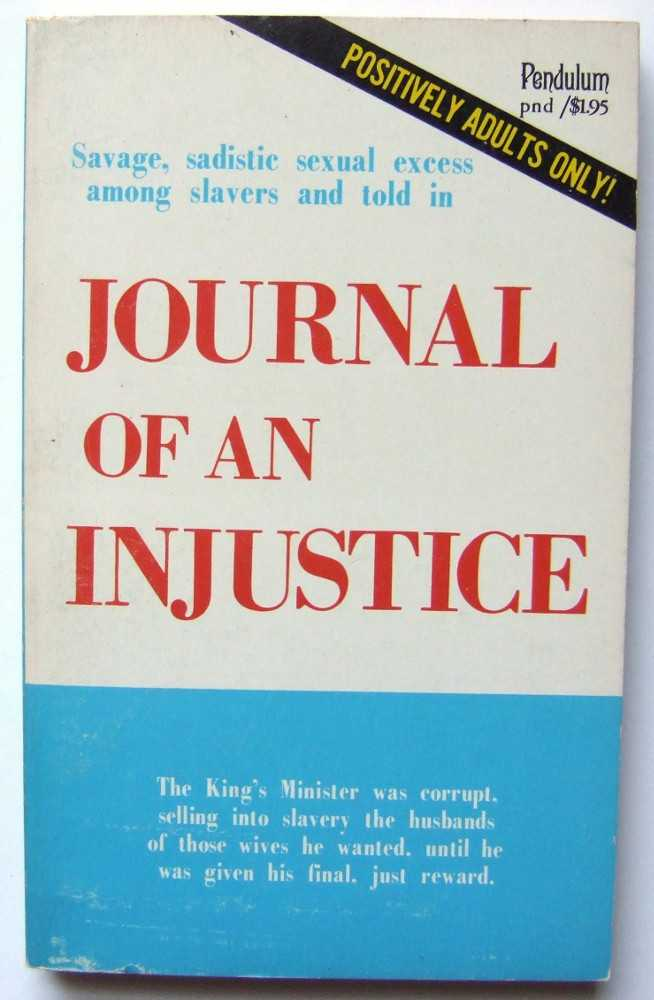 Image for Journal of an Injustice