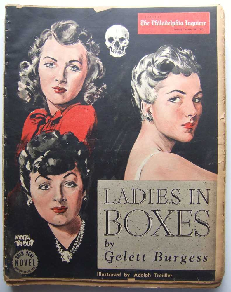 Image for Ladies in Boxes (Gold Seal Novel, presented by the Philadelphia Inquirer, Sunday, January 24 , 1943)