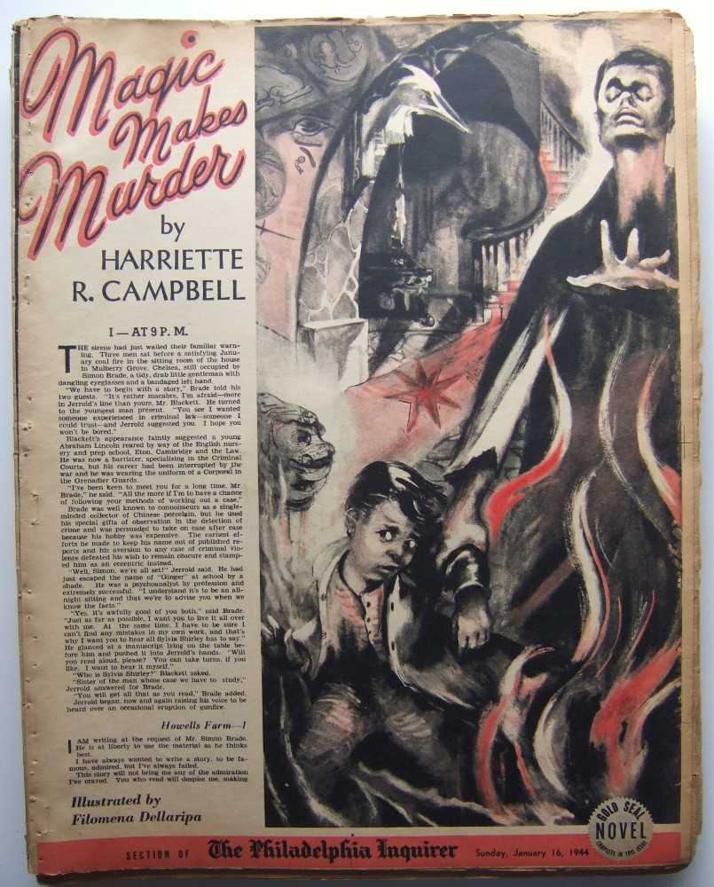 Image for Magic Makes Murder (Gold Seal Novel, presented by the Philadelphia Inquirer, Sunday, January 16, 1944)