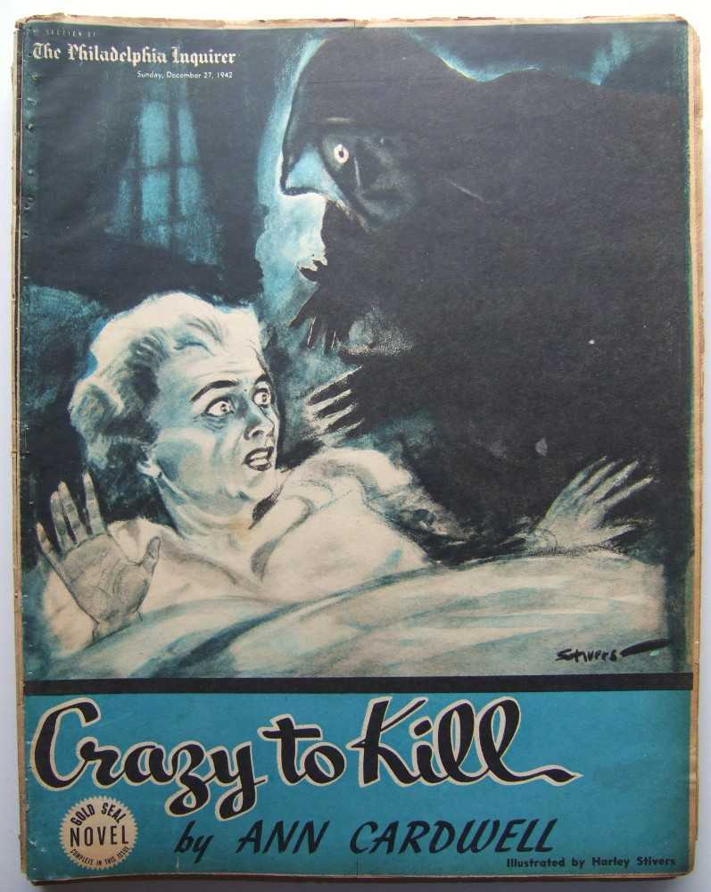 Image for Crazy to Kill (Gold Seal Novel, presented by the Philadelphia Inquirer, Sunday, December 27, 1942)