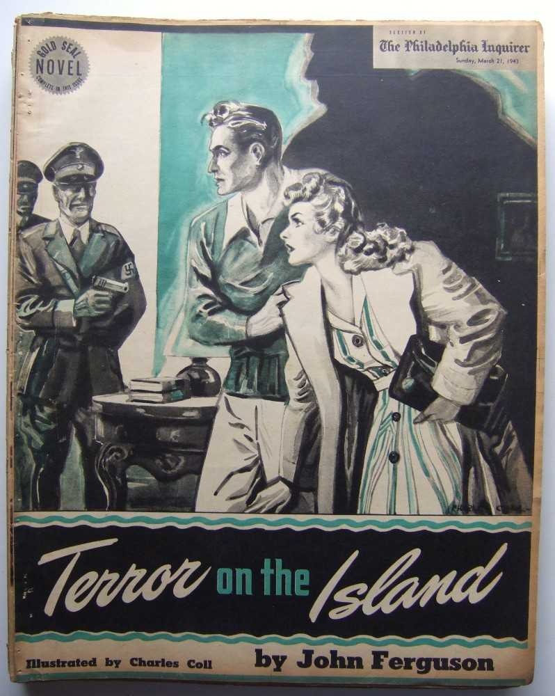 Image for Terror on the Island (Gold Seal Novel, presented by the Philadelphia Inquirer, Sunday, March 21, 1943)