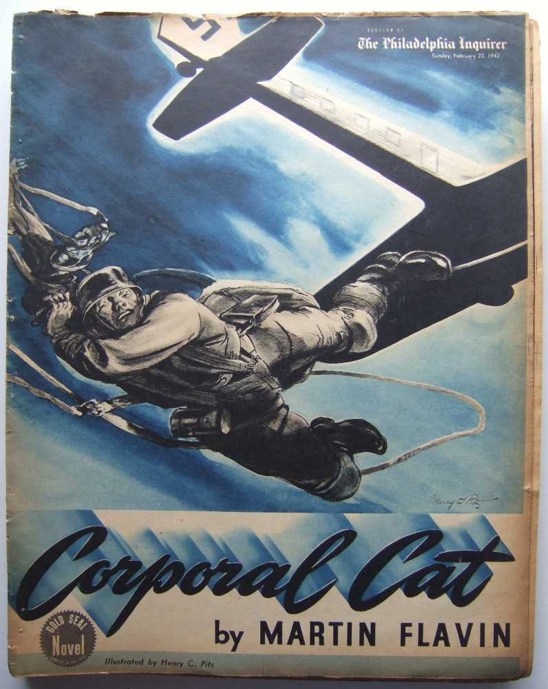 Image for Corporal Cat (Gold Seal Novel, presented by the Philadelphia Inquirer, Sunday, February 22, 1942)